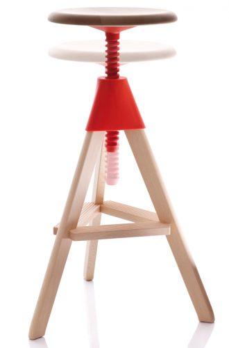magis-tom-and-jerry-stool-kruk-oranje-eyoba