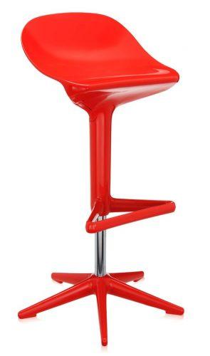 kartell_-_spoon_chair_-_rood_2