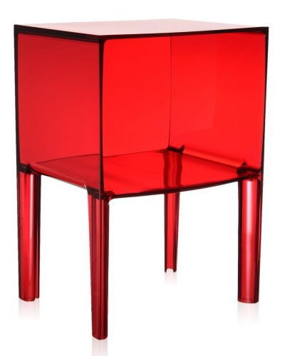 kartell_small_ghost_buster_nachtkastje_transparant_rood_eyoba_1